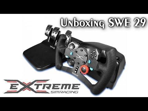 Unboxing SWE 29 - Add-on/Upgrade para o Logitech G29! | Extreme Simracing [PT-BR]