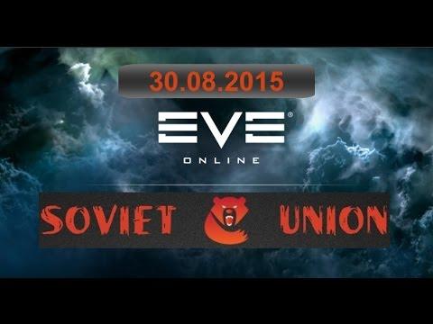 EVE Online Fleet PVP Soviet Union vs Gentlemen's.Club 30.08.15 мочалки умирают пачкой