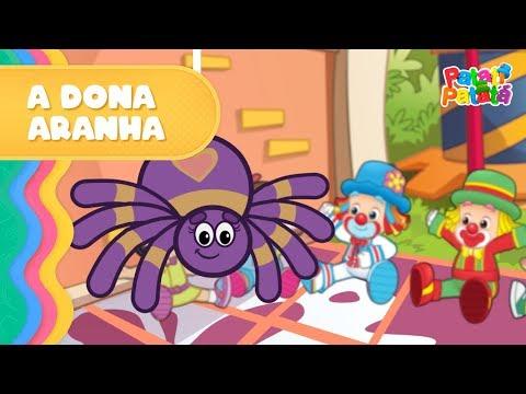 Patati Patatá - A Dona Aranha (DVD O Melhor da Pré-escola Vol.2)