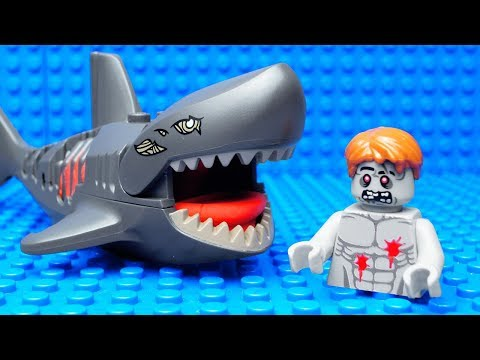 Lego Zombie Shark Attack