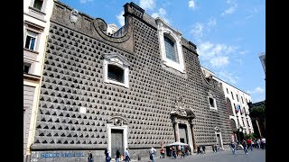 Places to see in ( Naples - Italy ) Gesu Nuovo Church