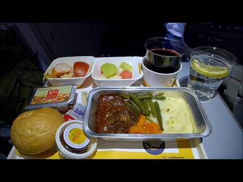 Lufthansa A380 Seoul - Frankfurt LH713 (July 2016)