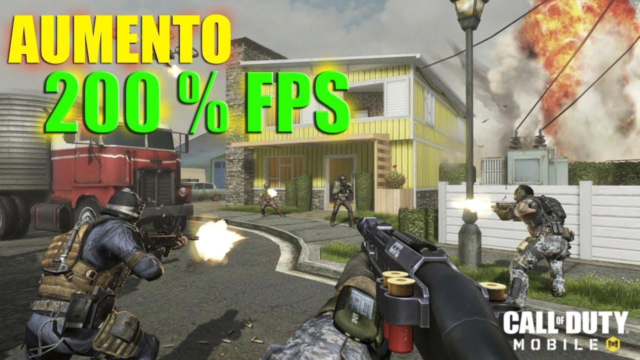 +200% DE FPS NO CALL OF DUTY MOBILE [PT BR 2019]  GAMEPLAY