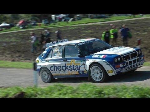 Lancia Delta HF Integrale pure Engine Sound and Action