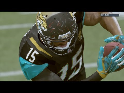 2017-2018 NFL PREVIEW SERIES PART 22: Jacksonville Jaguars - Madden 17 Online Gameplay