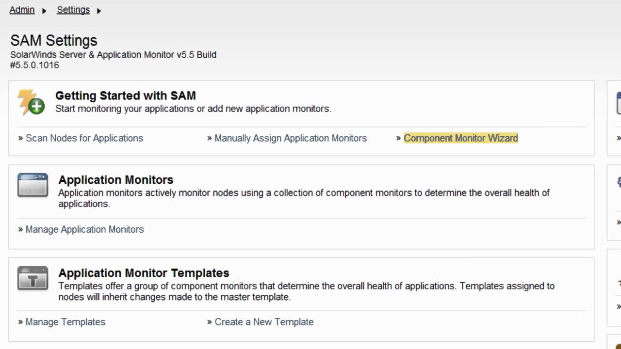 sam training assigning application templates in sam pt 5 youtube