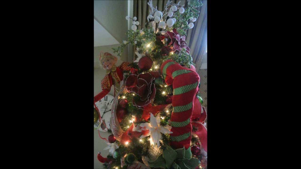 how to decorate an elf christmas tree decorating with elves with vibrant creations - Elf Christmas Decorations