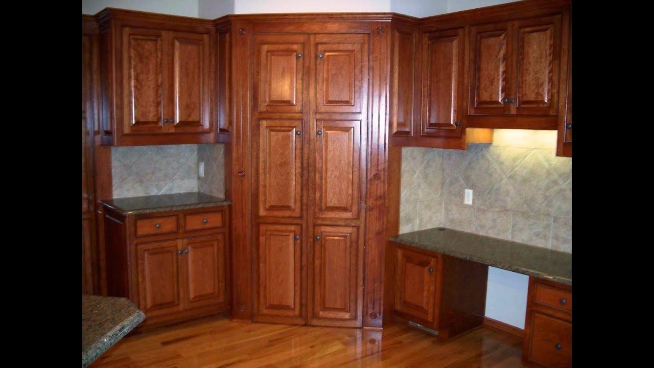 Corner Kitchen Pantry Cabinet Furniture - YouTube