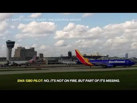 Hear air traffic control audio from catastrophic Southwest flight