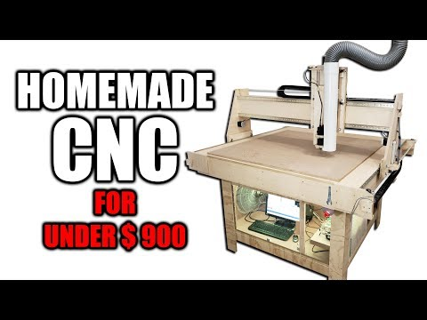 DIY CNC Router for Under $900 - Free Plans Available