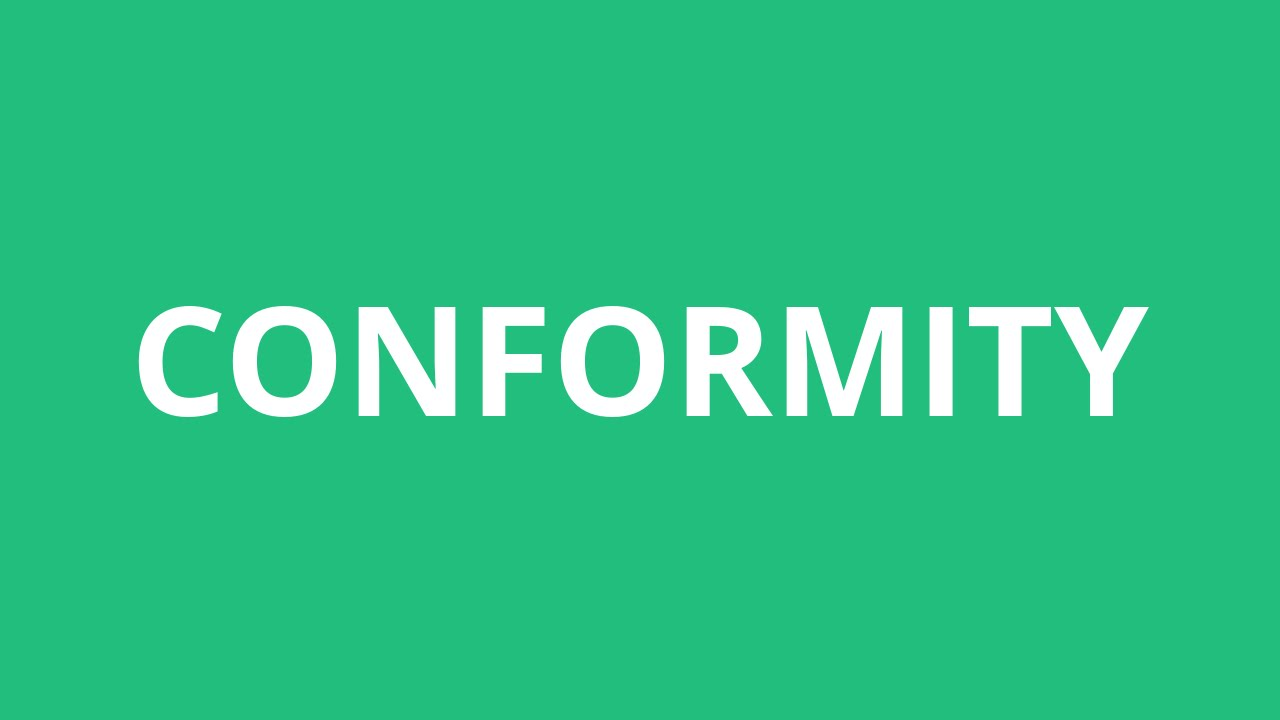 conformity essay conclusion Conformity is an essential part of every culture it's basic a likeness and understanding that can draw people together a culture who has citizens who conform will.