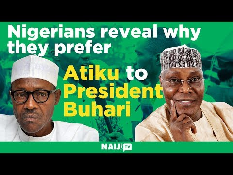 2019 Presidency: Nigerians reveal why they prefer Atiku to President Buhari