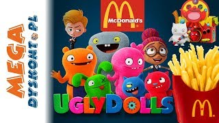 Paskudy. UglyDolls  Happy Meal  zabawki z McDonalda