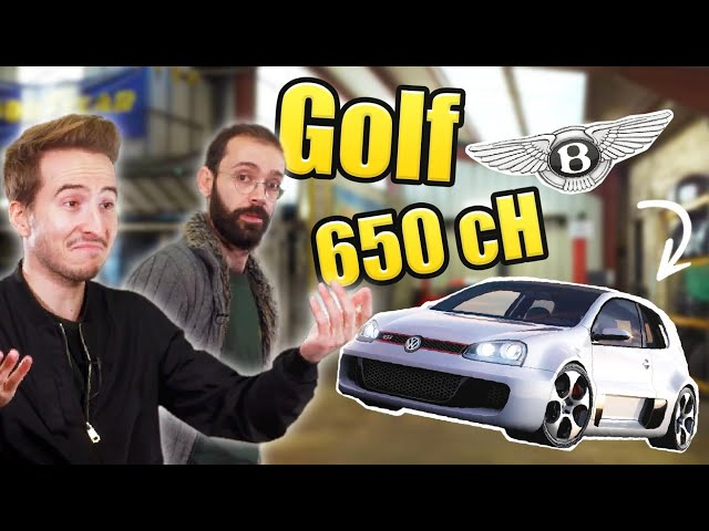 Vultech : L'incroyable GOLF W12 (avec 650ch dedans mdr)