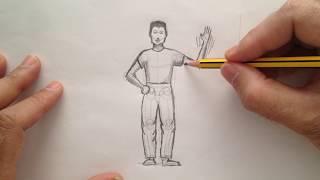 Cómo dibujar una figura humana