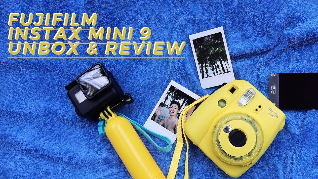 INSTAX MINI 9 | Unbox + Review máy chụp hình lấy liền của Fujifilm