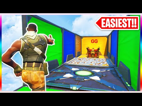 The EASIEST Deathrun of ALL Time! (Fortnite Creative Mode)