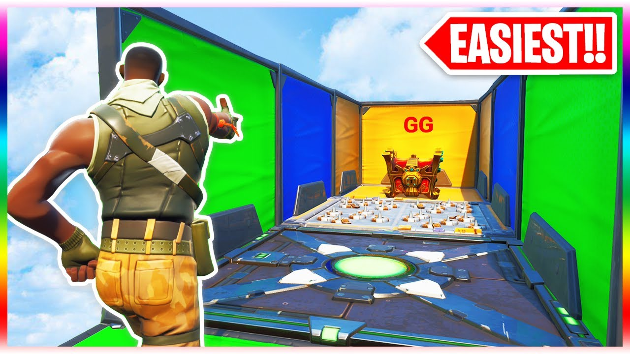 The EASIEST Deathrun of ALL Time! (Fortnite Creative Mode) #1