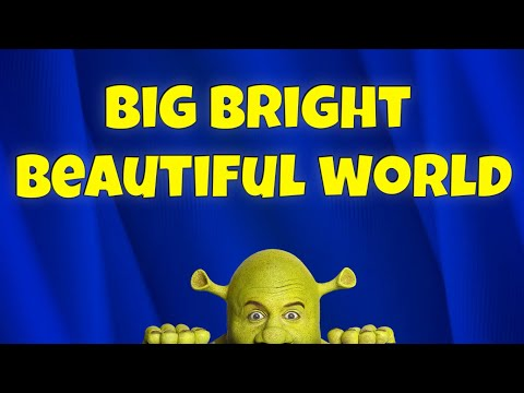 Overture: Big bright beautiful world / karaoke instrumental