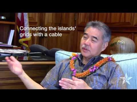 Hawaii Gov. David Ige talks energy (highlights)