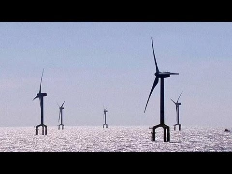 Powering the future, Germany opens its 'largest' wind farm