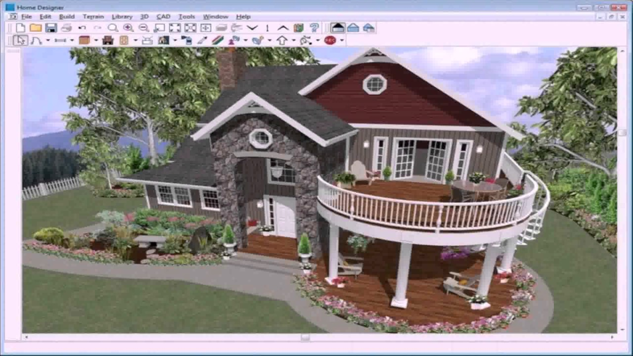 3d House Design Software Linux - YouTube