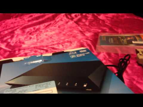 Unboxing Blueray Sony DBP-S3100