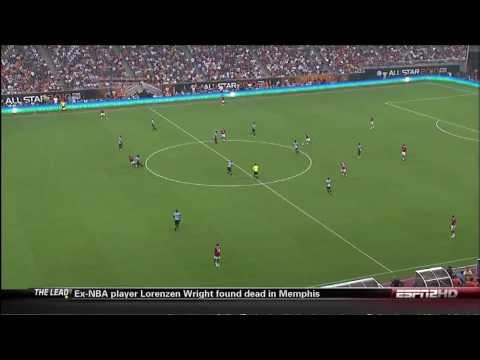 Manchester United Vs MLS All-Stars Gol Javier Hernandez