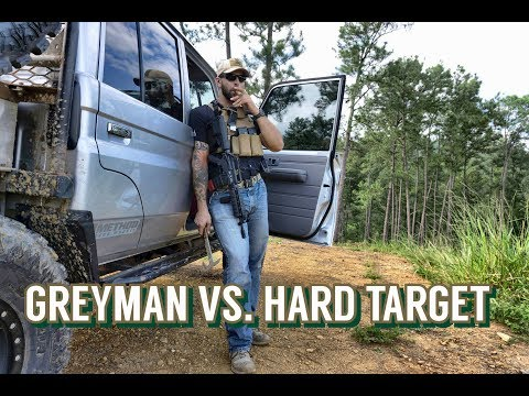 Greyman Vs Hard Target Private Security Contractor