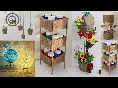 8 Jute craft ideas home decorating ideas handmade, Jute craft projects
