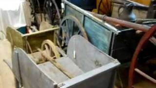 Home Made Antique Wheelbarrows