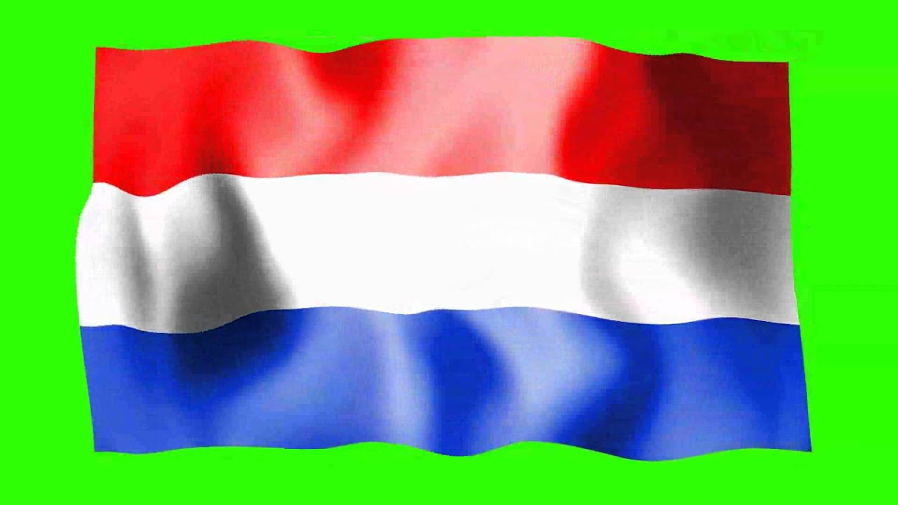 the netherlands holland waving flag free hd green screen