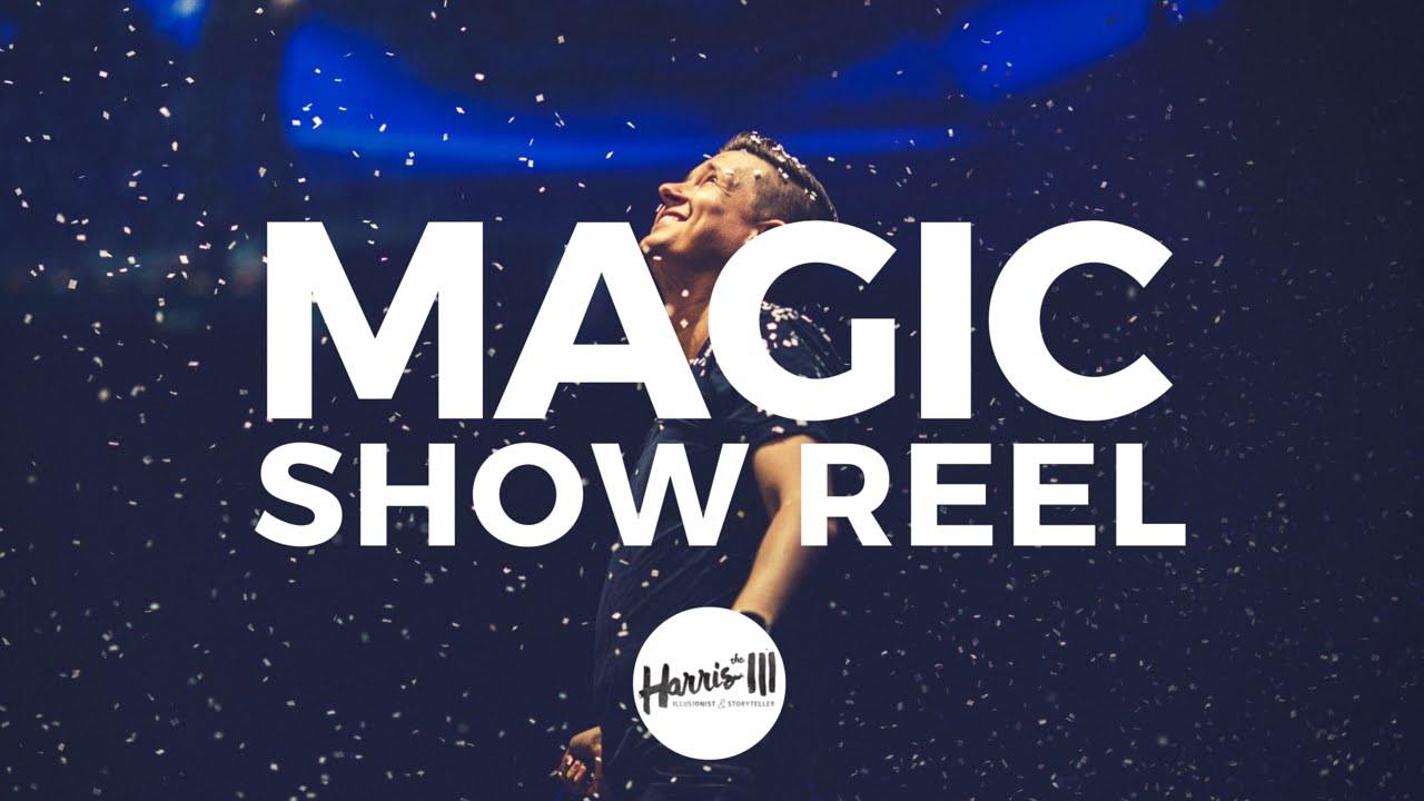 Magic Show Reel :: Harris III, Illusionist & Storyteller - YouTube