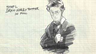 How To Draw Harry Potter (With Detail)