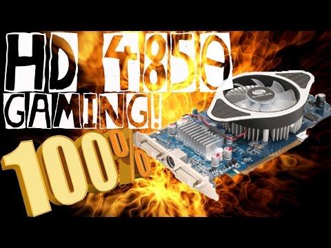 Jugando en una ATI Radeon HD 4850  al 100% (benchmarks)