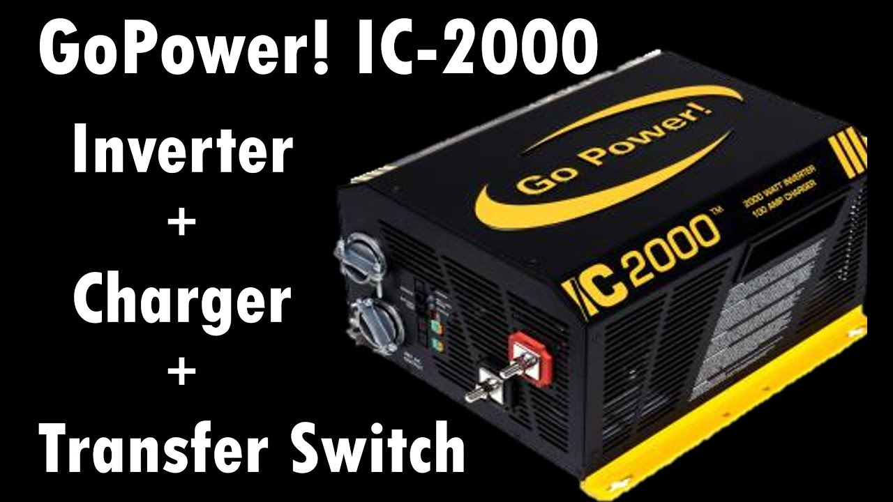 ic2000 inverter converter transfer switch [ 1280 x 720 Pixel ]