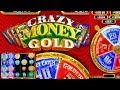 NEW GAME *CRAZY MONEY GOLD* (GOLD LINKS BONUS) MAX BET! WINNING PROGRESSIVES