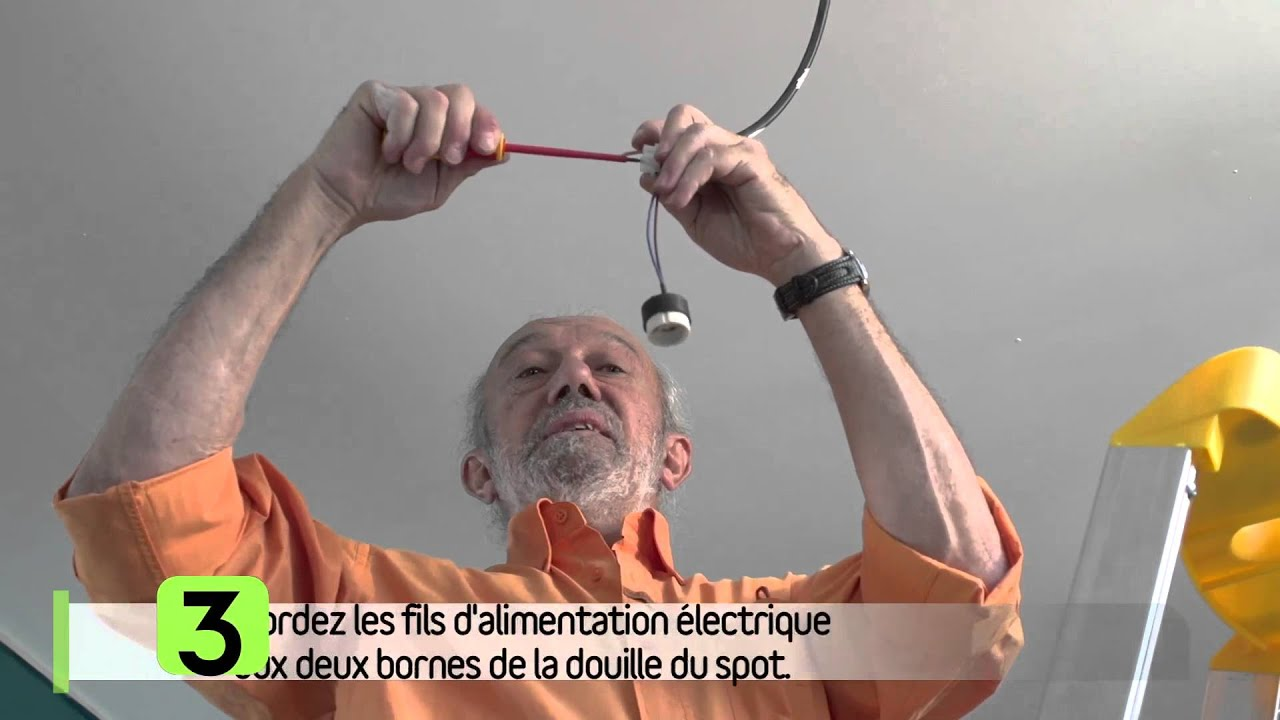 Moderne Installer un spot encastrable au plafond - YouTube YT-67