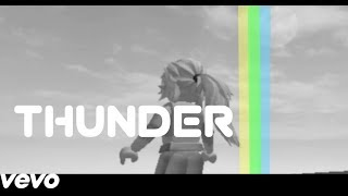 Thunder Imagine Dragon Roblox music video