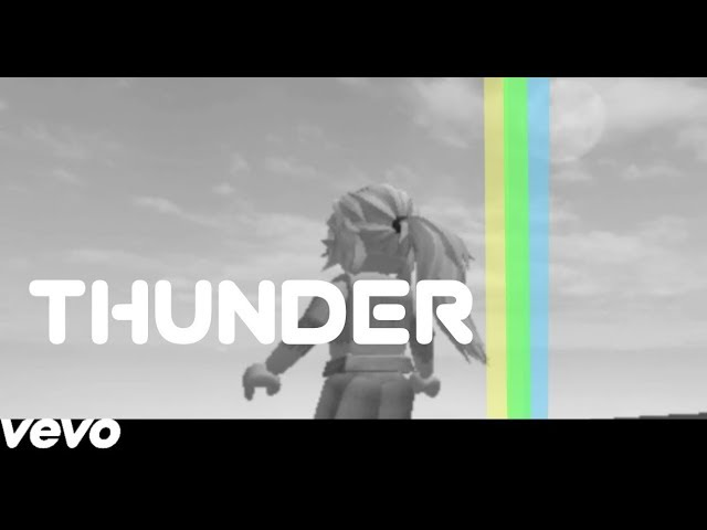 Thunder Cloud Roblox Thunder Imagine Dragon Roblox Music Video Youtube