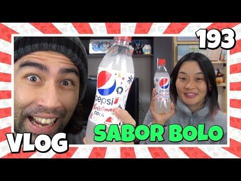 Pepsi sabor Bolo Ep193 - Japão Nosso De Cada Dia