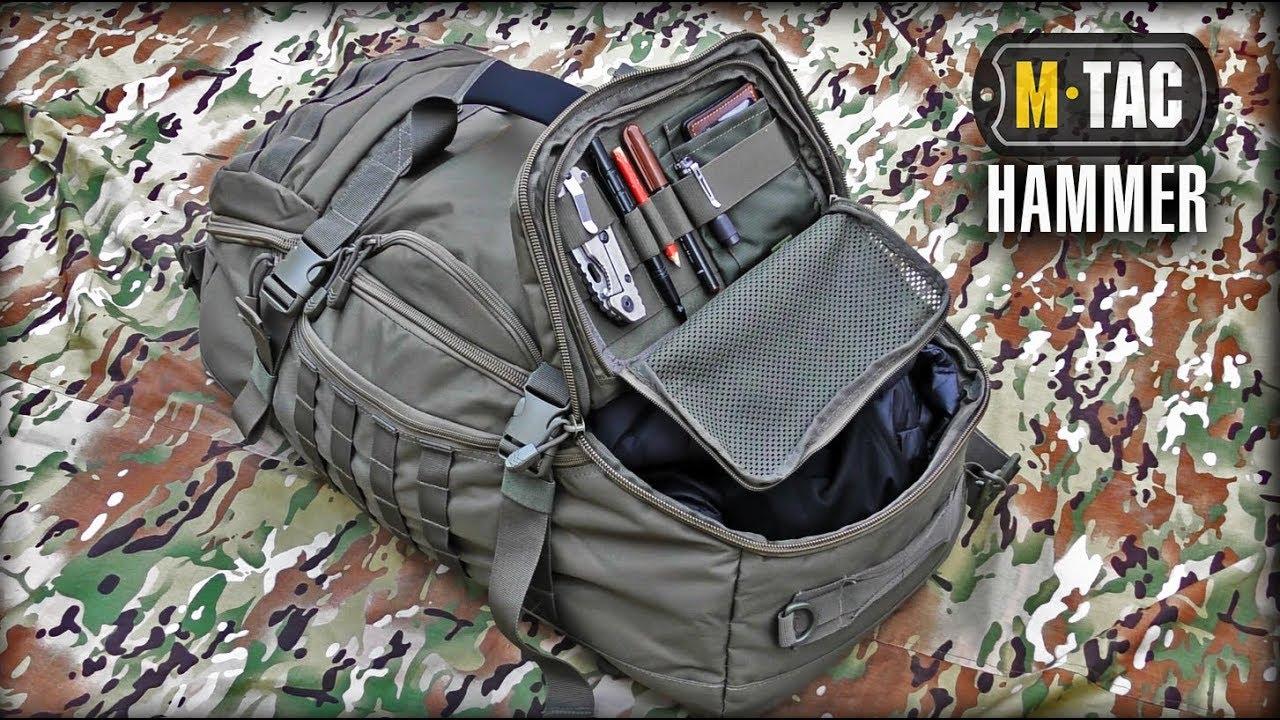 СУМКА-РЮКЗАК HAMMER М-ТАС/Survival backpack