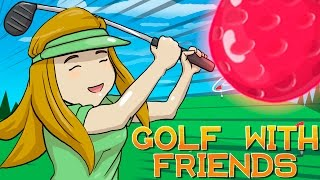 EL GOLF DE LOS GOLPES | Con Luh , Gona Y Exo  | Golf with friends | sarinha