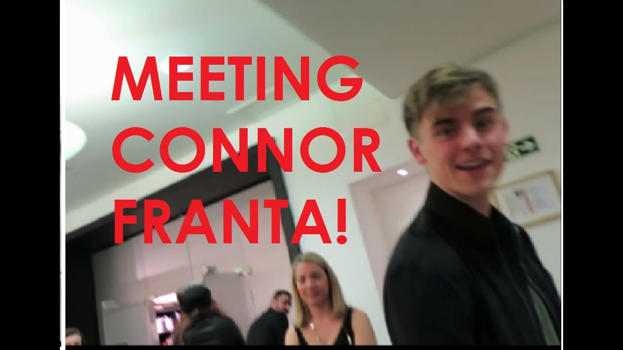 Meeting Connor Franta Youtube