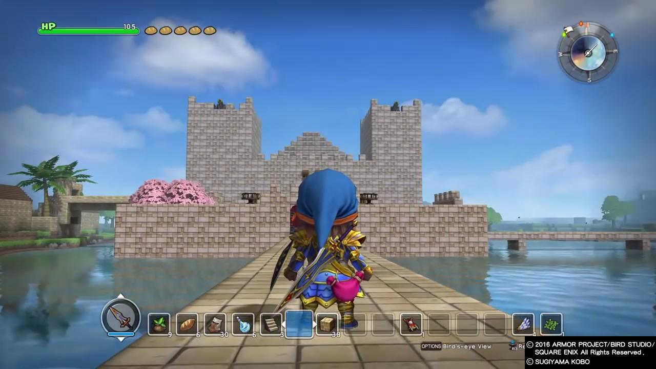 Dragon Quest Builder Castle