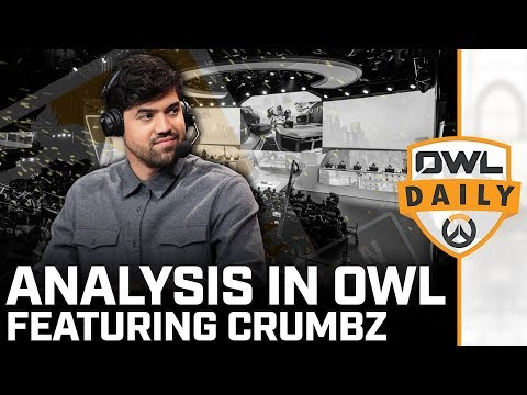 Analysis in Overwatch League feat. Crumbz - Overwatch League Daily