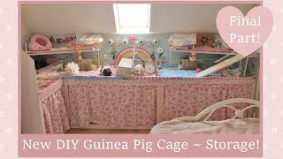 New & Improved DIY Guinea Pig Cage ~ Final Part!