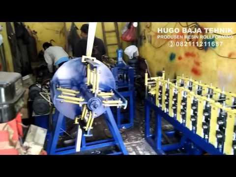 finishing mesin baja ringan / mesin kanal c dan reng / rollforming