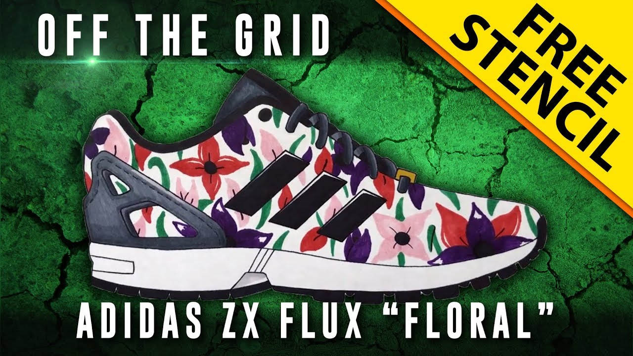 Adidas ZX Flux Floral | Rubber shoes! Sneakers! And whatever