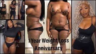 1 Year Weight Loss Anniversary! Goodbye 53lbs! Keto Diet Lifestyle Change Jsculpt Fitness Belt